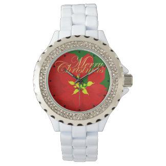 Relógio Poinsétia
