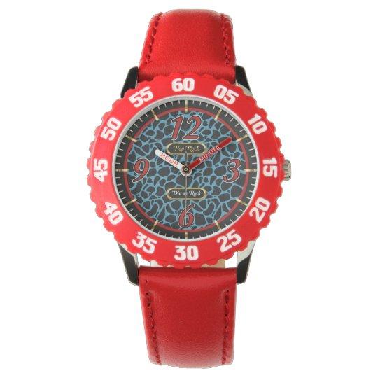 Relógio Pop Rock