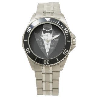 Relógio Portador de anel do noivo do pai de Bestman do