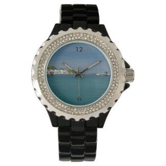 Relógio Porto da ilha de Mackinac
