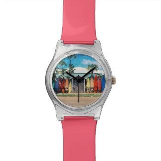 Relógio Prancha coloridas