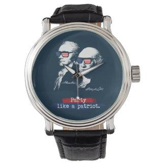 Relógio Presente dos patriotas de Alexander Hamilton