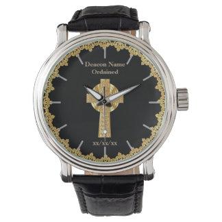 Relógio Presente ordenado diácono da classificação