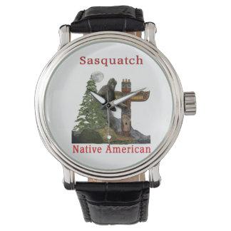 Relógio produtos do sasquatch