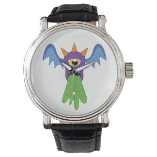 Relógio Puking do bastão