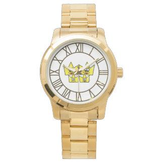 Relógio Pulseira Grande Dourada - Família Gay