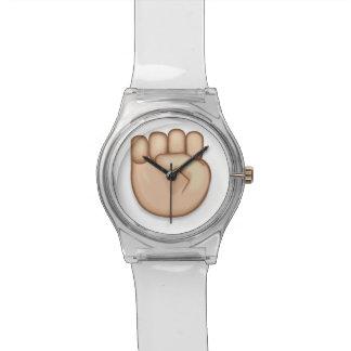 Relógio Punho aumentado Emoji