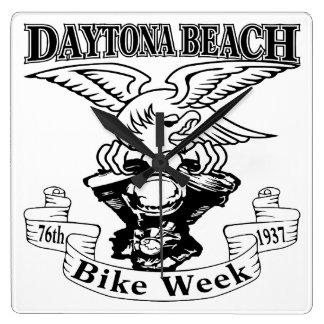 Relógio Quadrado 76th Semana Eagle 1937 da bicicleta de Daytona