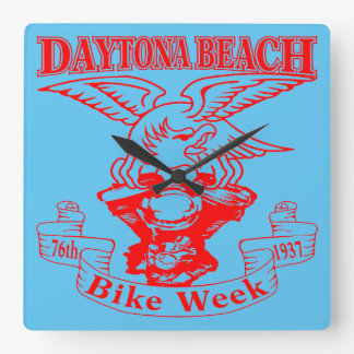 Relógio Quadrado 76th Semana Eagle 1937r da bicicleta de Daytona
