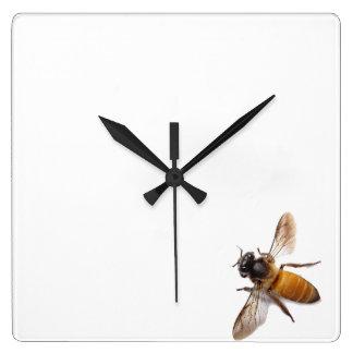 Relógio Quadrado Abelha do mel