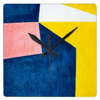 Relógio Quadrado Abstracta