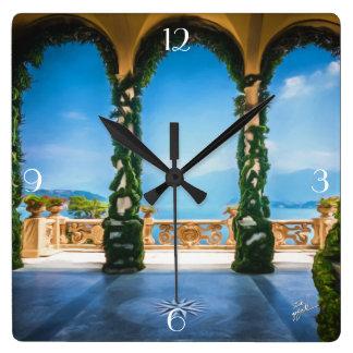 Relógio Quadrado Arcos de Italia