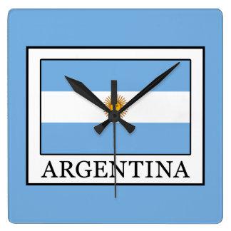 Relógio Quadrado Argentina