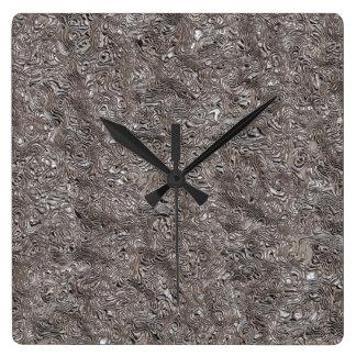 Relógio Quadrado arte na moda 118A do metal