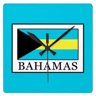 Relógio Quadrado Bahamas