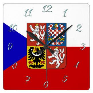 Relógio Quadrado Bandeira checa