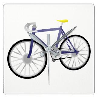 Relógio Quadrado Bicicleta
