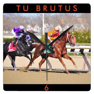 Relógio Quadrado Brutus da Turquia
