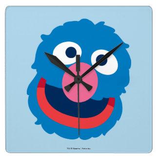 Relógio Quadrado Cabeça de Grover