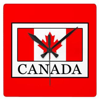 Relógio Quadrado Canadá