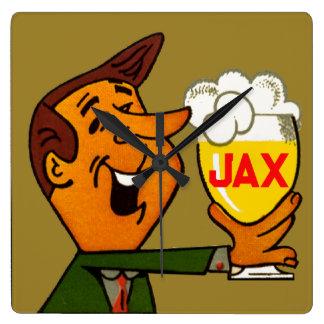 Relógio Quadrado Cerveja de Jax