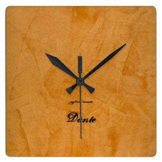 Relógio Quadrado Dante