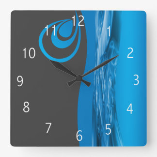 Relógio Quadrado Design do pulso de disparo da empresa do
