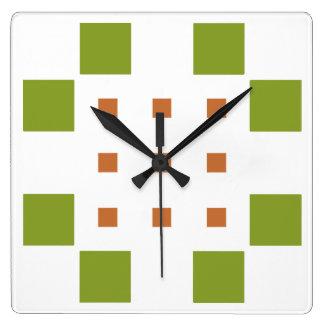 Relógio Quadrado Dylo/pulso de disparo de parede quadrado