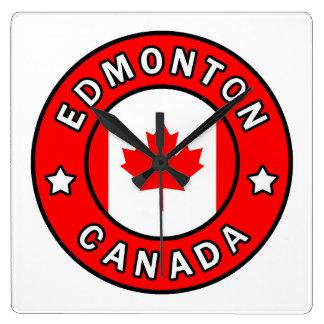 Relógio Quadrado Edmonton Canadá