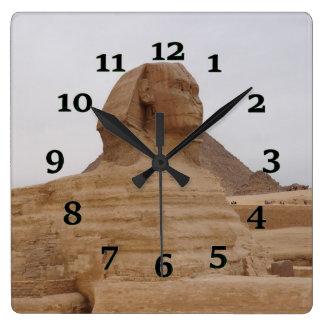 Relógio Quadrado Esfinge