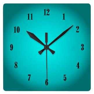 Relógio Quadrado Fulgor do Aqua