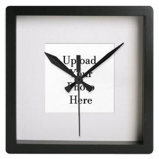 Relógio Quadrado Ilusão quadro da foto