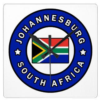 Relógio Quadrado Joanesburgo África do Sul