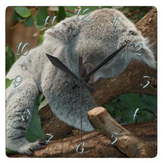 Relógio Quadrado Koala