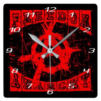 Relógio Quadrado liberdade