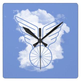 Relógio Quadrado Liberdade da bicicleta