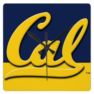 Relógio Quadrado Logotipo do Cal