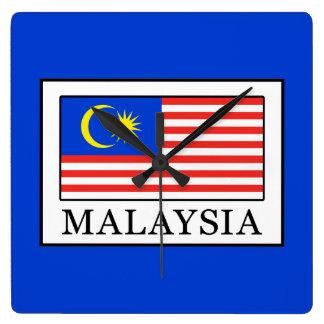 Relógio Quadrado Malaysia
