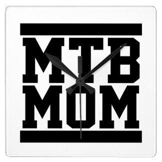 Relógio Quadrado Mamã de MTB