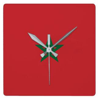Relógio Quadrado Marrocos