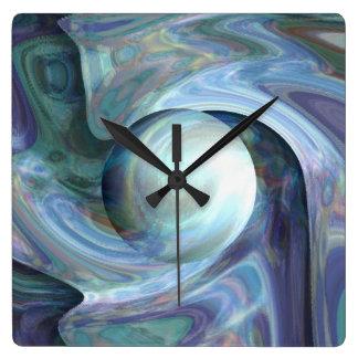 Relógio Quadrado Mergulho da pérola