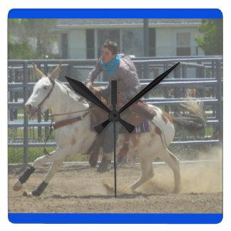 Relógio Quadrado Montana mula dias junho de 2016