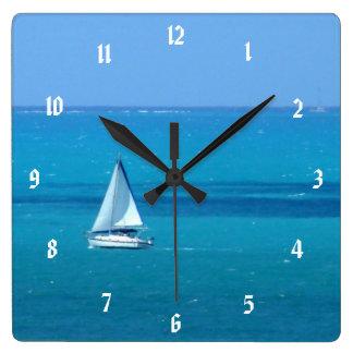 Relógio Quadrado Navigação