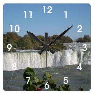 Relógio Quadrado Niagara Falls