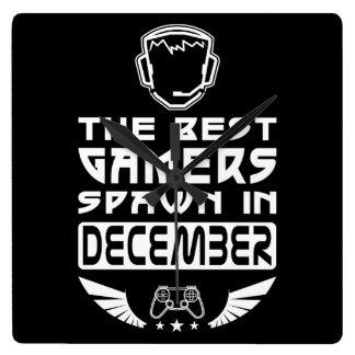 Relógio Quadrado O melhor Spawn dos Gamers em dezembro