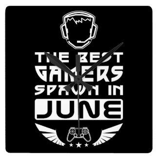 Relógio Quadrado O melhor Spawn dos Gamers em junho