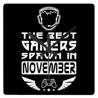 Relógio Quadrado O melhor Spawn dos Gamers em novembro