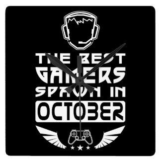 Relógio Quadrado O melhor Spawn dos Gamers em outubro