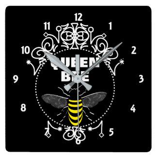 Relógio Quadrado O vintage bonito inspirou o gráfico feminino do
