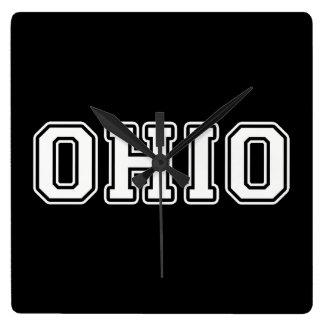 Relógio Quadrado Ohio